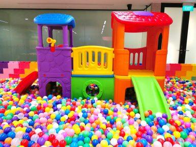 Kids Playground in Ball Pit