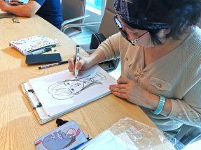caricaturist for hire singapore