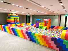 giant mega bricks ball pit
