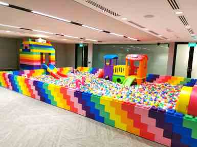 giant mega bricks ball pit