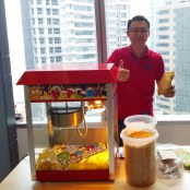 Hire Popcorn Station in Singapore