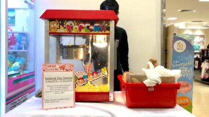 Popcorn Rental for Roadshow Event