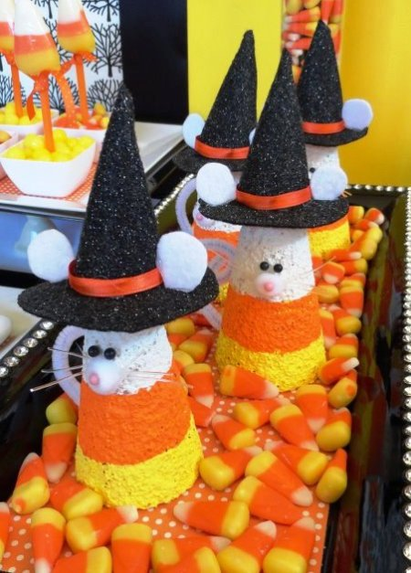 Candy Corn Mice