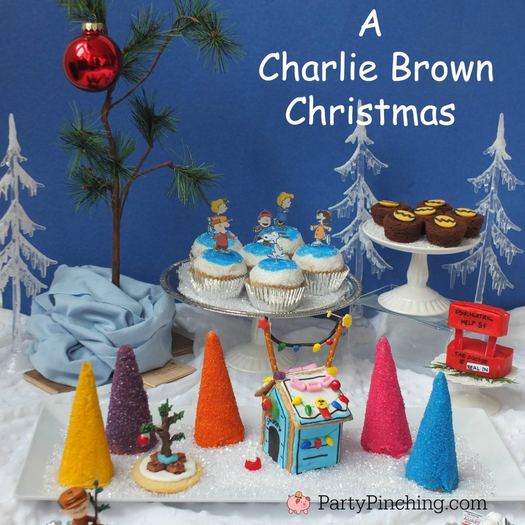 A Charlie Brown Christmas Theme Party Ideas With Snoopy
