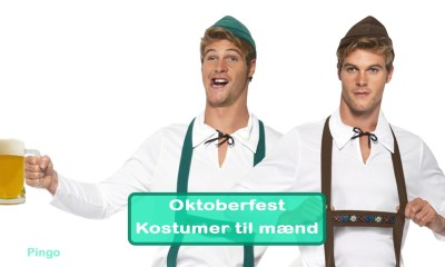 Oktoberfest Kostumer til mænd