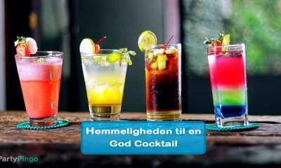 Hemmeligheden til en God Cocktail