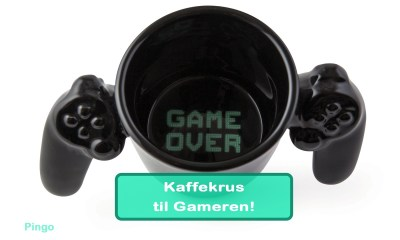 Fede Kaffekrus til den Perfekte Gamer