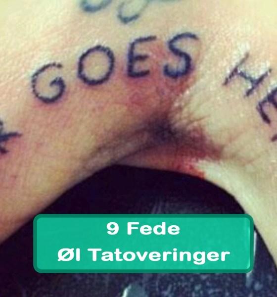 9 Fede Øl Tatoveringer