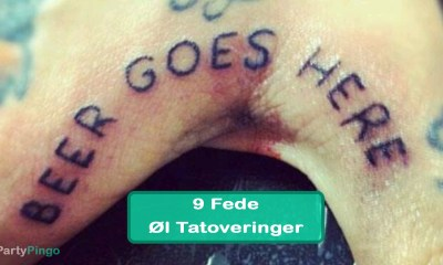 9 Fede Øl Tatoveringer