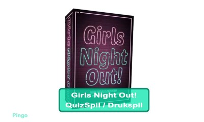 Girls Night Out Quiz - Drukspil