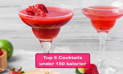 Top 5 Cocktails med under 150 kalorier