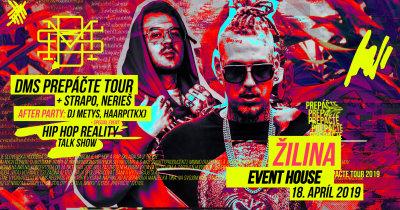 DMS prichádza s Prepáčte TOUR 2019 do Žiliny