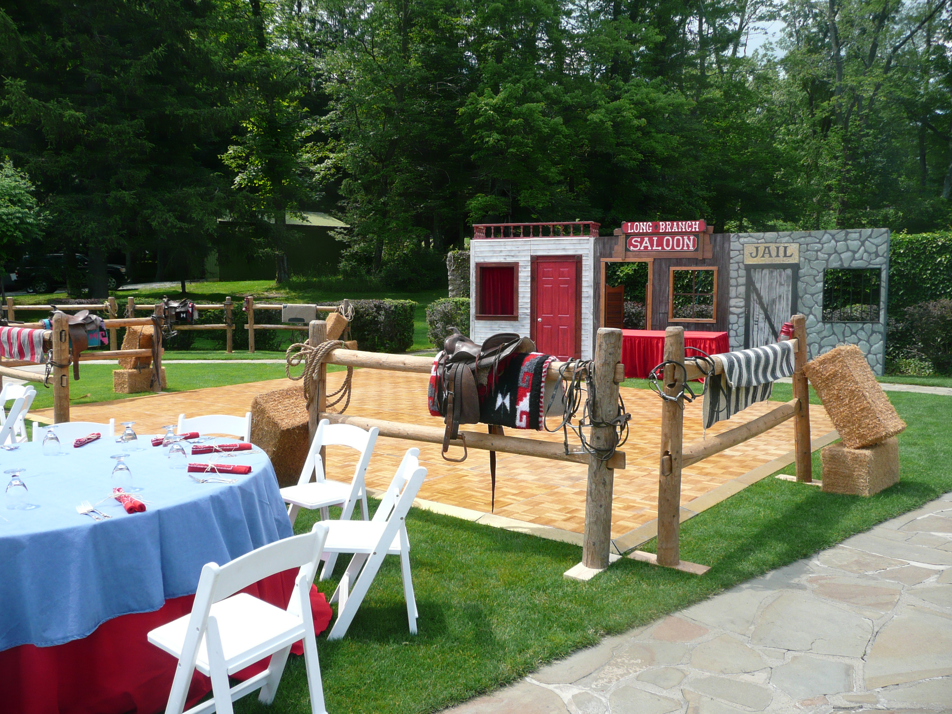 Events Outdoor Western Party The Prop Shop