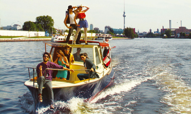Berlin, Beats & Boats, die Techno Boot Parade auf der Spree