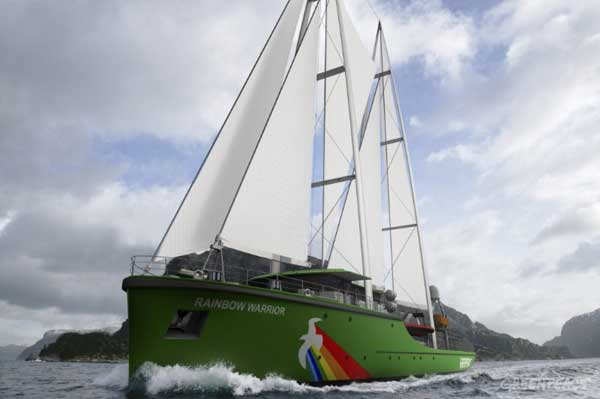 rainbow warrior crowdfunding 3d website ship greenpeace donation