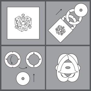 """""""Muda na Mono""""-Puzzleverpackung. """"Muda na Mono"""" (Japanisch) bedeutet so viel wie """"pointless object"""" / """"zweckloses Objekt"""""""