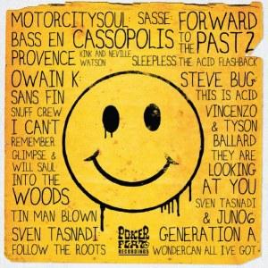 VARIOUS ARTISTS FORWARD TO THE PAST 2 THE ACID FLASHBACK Poker Flat PFRLP28d Digital Album veröffentlicht 16. Dezember 2011