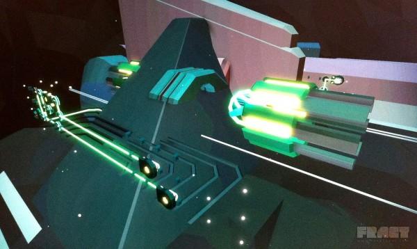 FRACT > Myst trifft auf Tron. Ein Musik & Grafikabenteuer. First Person Puzzle Adventure Game