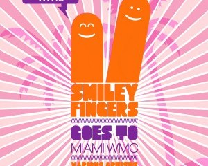 Smiley Fingers Goes To Miami Compilation Cover