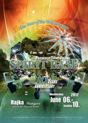 Spirit Base Festival, Wasserdrache, Psy, Goa, Rajka, Ungarn, Grenze, Slowakei, 3D Visuals, Ozora, Goaran, Tapanov, Ernstbrunn, Sbase