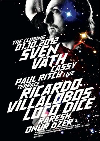 Cocoon Ibiza Closing Party 2012