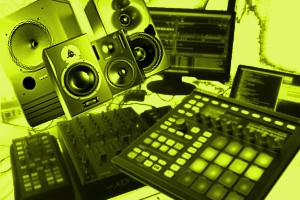 Technik-Equipment-Collage