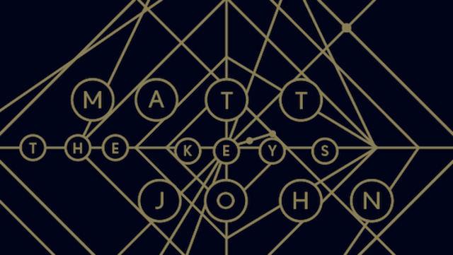 Matt John The Keys Cocoon CORCD034 Release Date: 27-05-2013