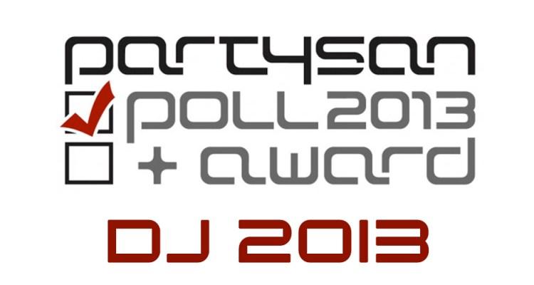 Bester DJ 2013 Partysan Poll