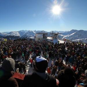 Eines der Highlights: Die Party auf dem Schattberg