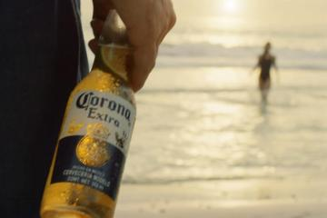 Corona This is Living Beach Sundown