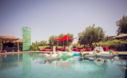 Oasis Festival Marrakech, Morocco, 2016. Main Pool Floor