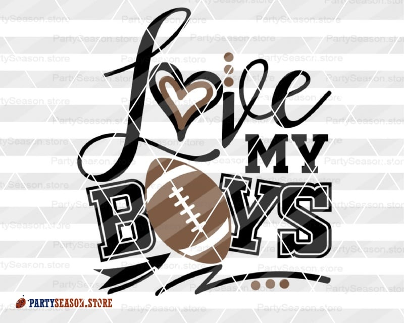 Download Love my boys Football