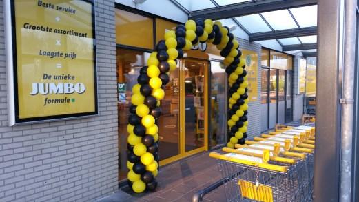 Geel/zwart 7m