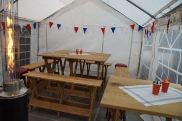 4x4 tent met Woody-line