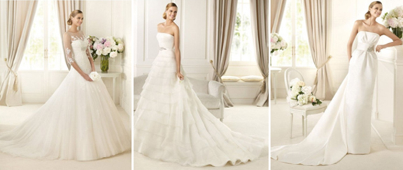 Example Wedding Gowns