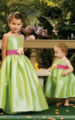 Lime Green Flower Girl Dresses