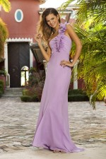Lilac Purple Bridesmaid Dress by Alexia