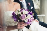 Purple, Pink, and White Bouquet