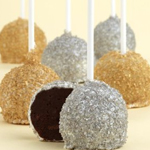 Silver And Gold Cake Pops