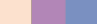 Linen african violet dusk blue color trends