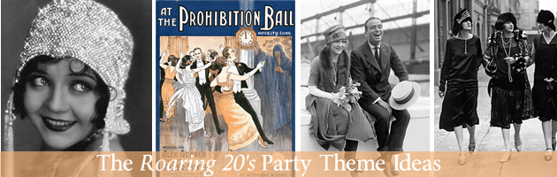 Roaring 20's party themes