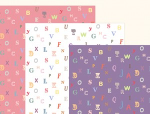 Baby Alphabet Free Scrapbooking Pages Printables