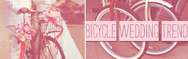 Bicycle Wedding Trend