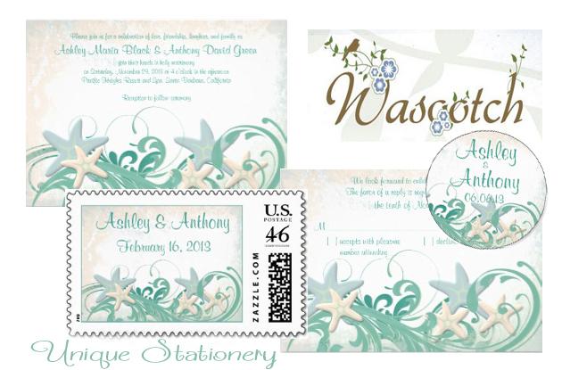 Wasootch Beach Wedding Invites