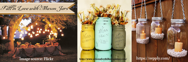 Rustic Wedding Trends Fall Mason jars