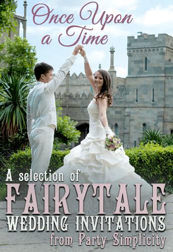 Fairytale wedding invitations designs