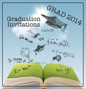 2014 Graduation Party Invitations Header