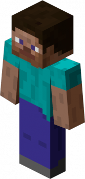 Player Steve Minecraft