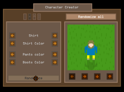Clothes color and shirt picker