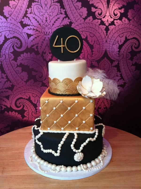 An Art Deco Cake An Essential Piece For Your Gatsby Style